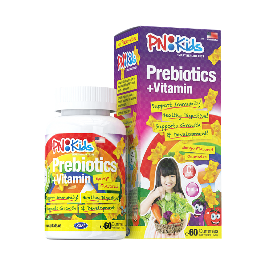 Prebiotics and Vitamins 60s