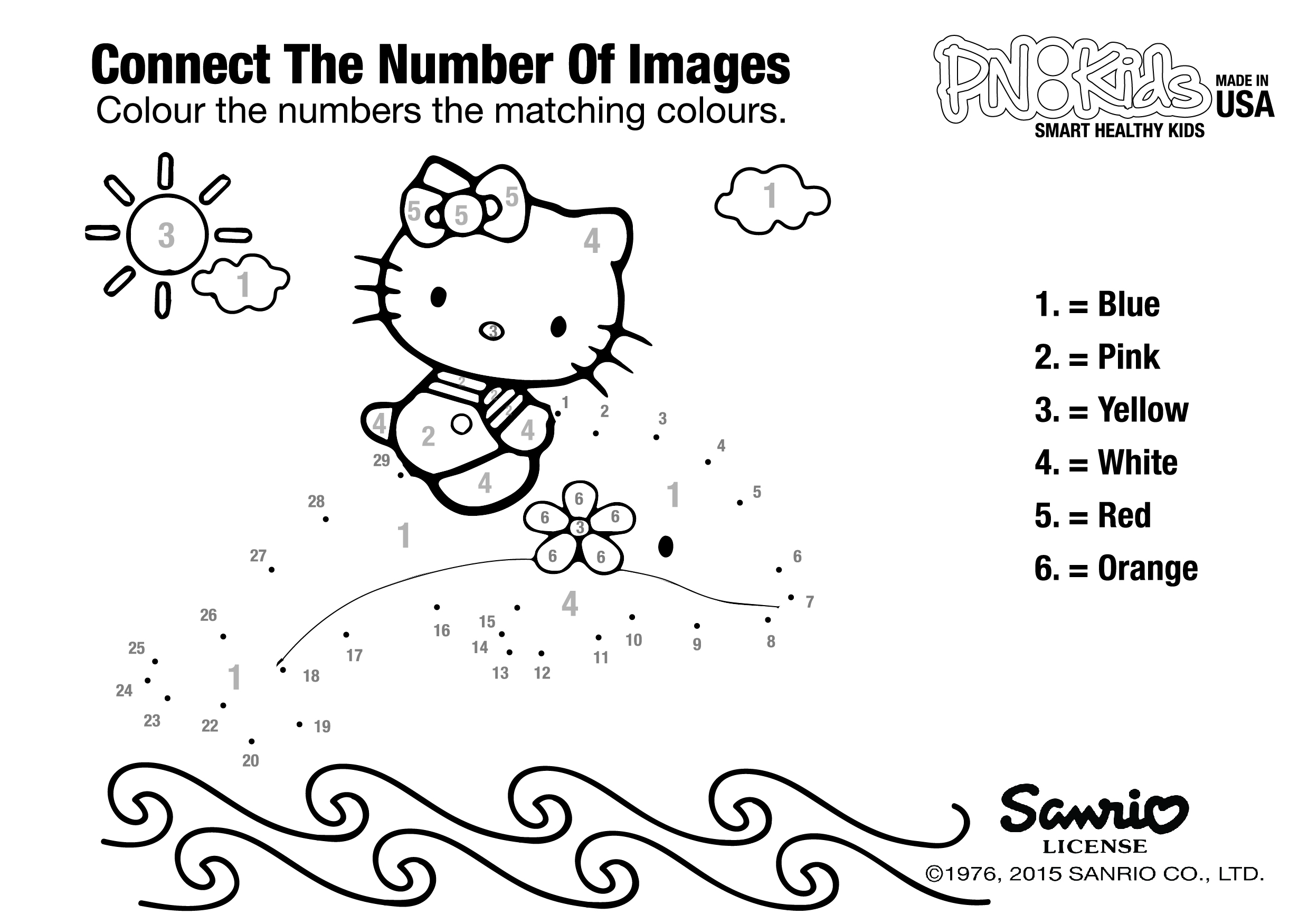 Download hello kitty coloring page