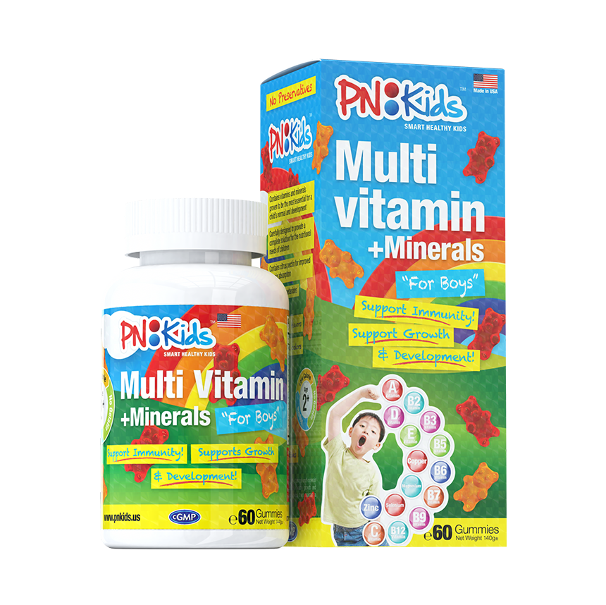 Multivitamin Minerals for Boys